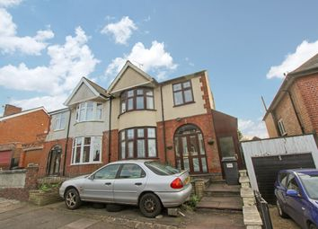 Thumbnail 3 bed semi-detached house for sale in Ashleigh Road, Leicester