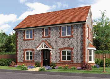 """Thumbnail 3 bed detached house for sale in """"Woodhouse"""" at Mansfield Business Park, Lymington Bottom Road, Medstead, Alton"""