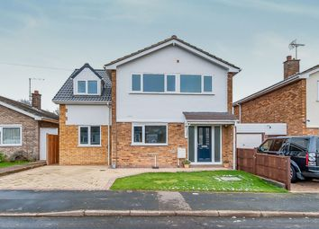 Thumbnail 4 bed detached house for sale in Westfield Road, Yaxley, Peterborough