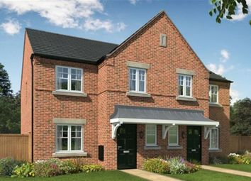 Thumbnail 3 bed town house for sale in Darklands Lane, William Nadin Way, Swadlincote