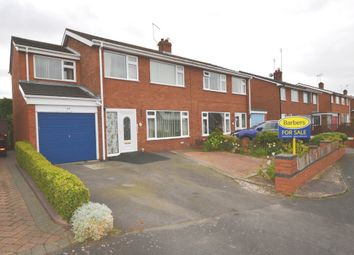 Thumbnail 4 bed semi-detached house for sale in Elm Drive, Market Drayton