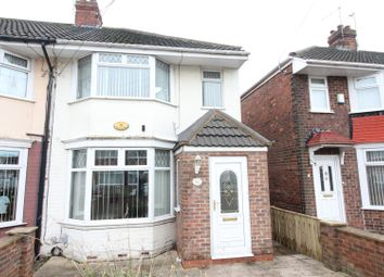 Thumbnail 3 bed end terrace house for sale in Woodlands Road, Hull