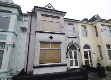Thumbnail 3 bed terraced house for sale in Glendower Road, Plymouth