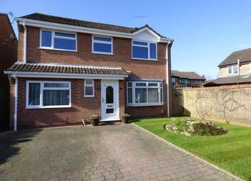 Thumbnail 4 bedroom detached house for sale in The Cleeves, Totton