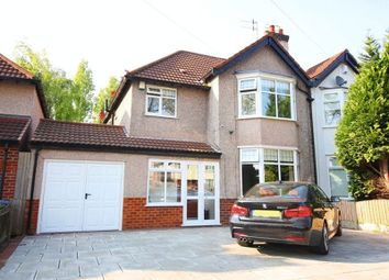 Thumbnail 3 bed semi-detached house for sale in Green Lane, Calderstones, Liverpool