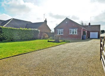 Thumbnail 3 bed detached bungalow for sale in Gipsy Lane, Frostenden, Beccles