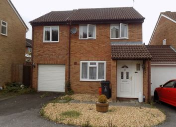 Thumbnail 4 bedroom detached house for sale in Marigold Close, Swindon