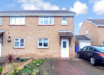 Thumbnail 3 bed semi-detached house for sale in Dunkeld Close, Blyth
