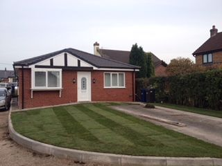 Thumbnail 2 bed semi-detached bungalow to rent in Nursery Gardens, Longton, Preston