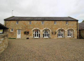 Thumbnail 4 bed cottage to rent in The Granary Mill Farm, Mitford, Morpeth