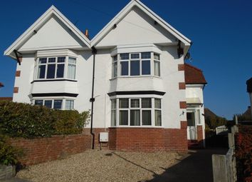 Thumbnail 3 bed semi-detached house to rent in Halsdon Avenue, Exmouth