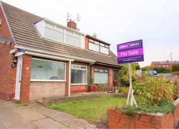 Thumbnail 2 bed semi-detached house for sale in Belvedere Road, Wigan