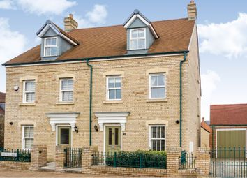 Thumbnail 4 bed semi-detached house for sale in Trevello Road, Swindon