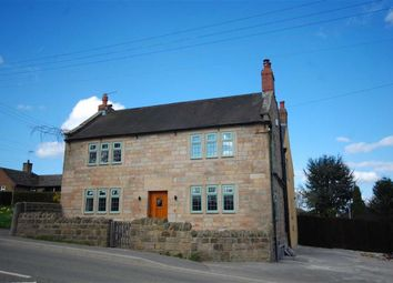 Thumbnail 4 bed detached house for sale in The Green, Wessington, Alfreton