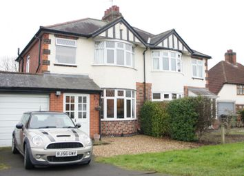 Thumbnail 3 bed semi-detached house for sale in Loughborough Road, Rothley, Leicester