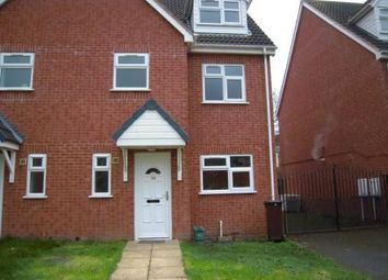 Thumbnail 4 bed semi-detached house to rent in Great Hampton Street, Wolverhampton