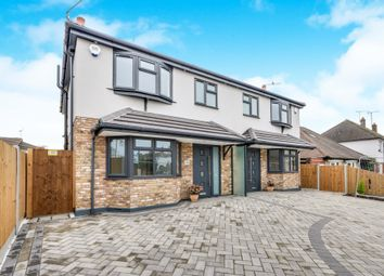 Thumbnail 3 bed semi-detached house for sale in Elmsleigh Drive, Leigh-On-Sea