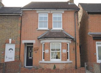 Thumbnail 3 bedroom detached house to rent in Hummer Road, Egham, Surrey