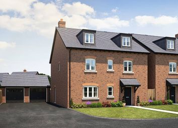 "Thumbnail 5 bed detached house for sale in ""The Hazelmere Georgian"" at Lutterworth Road, Rugby"