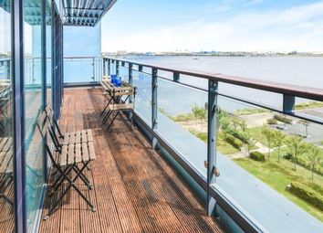 Thumbnail 2 bed flat for sale in Kilcredaun House, Ferry Court, Cardiff, Caerdydd