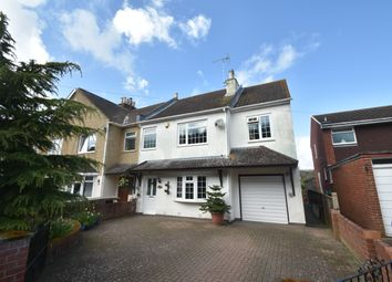 Thumbnail 4 bed semi-detached house for sale in Foxbury Lane, Gosport