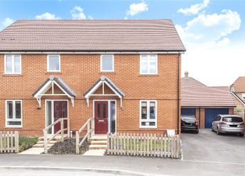 Thumbnail 3 bed semi-detached house for sale in Saunders Way, Basingstoke, Hampshire