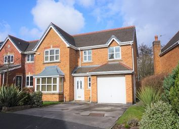 Thumbnail 4 bed detached house for sale in Bannister Way, Wigan