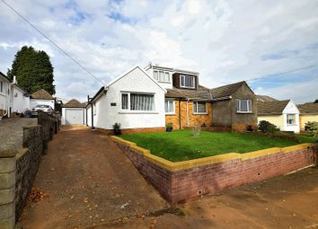 Thumbnail 4 bed semi-detached bungalow for sale in Lon Cae Porth, Rhiwbina, Cardiff.
