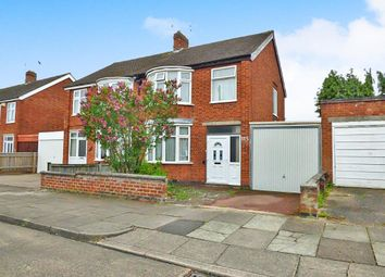 Thumbnail 3 bedroom semi-detached house for sale in Northdene Road, Leicester