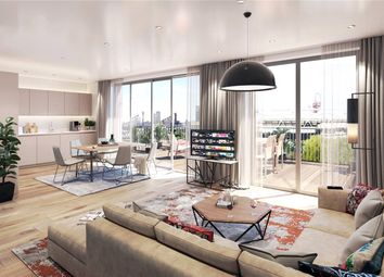 Thumbnail 3 bedroom flat for sale in Lock No.19, Bream Street, London