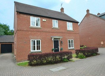 Thumbnail 4 bed detached house for sale in Fieldfare Close, Coton Meadows, Rugby, Warwickshire