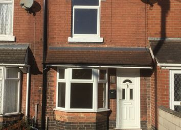 Thumbnail 3 bed terraced house to rent in Hill Street, Burton-On-Trent