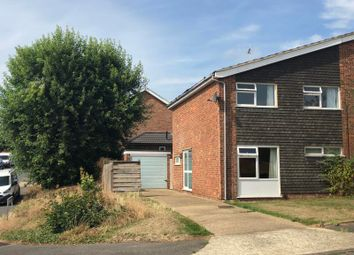 Thumbnail 3 bedroom semi-detached house to rent in Chatsworth Crescent, Ipswich, Suffolk