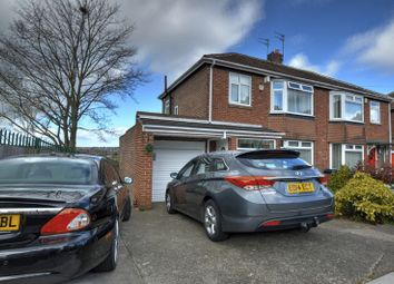 Thumbnail 3 bedroom semi-detached house for sale in Rothley Avenue, Fenham, Newcastle Upon Tyne