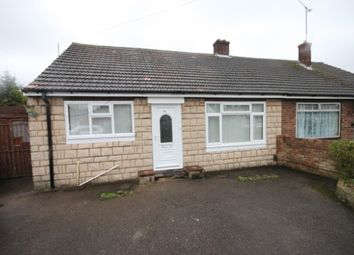Thumbnail 3 bed semi-detached bungalow to rent in Linden Road, Leagrave, Luton