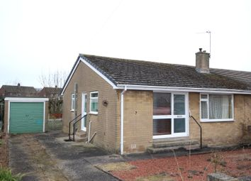 Thumbnail 2 bed semi-detached bungalow for sale in 7 Crossfield, Carlisle, Cumbria