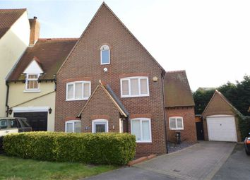 Thumbnail 4 bed link-detached house for sale in Churchfield, Epping, Essex