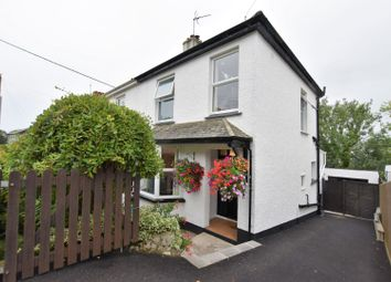 Thumbnail 3 bed semi-detached house for sale in Tregenver Villas, Falmouth