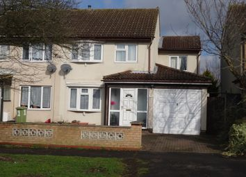 Thumbnail 4 bed semi-detached house for sale in Vauxhall, Bradville, Milton Keynes