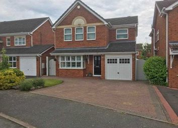 Thumbnail 4 bed detached house for sale in Vine Close, Hixon, Stafford