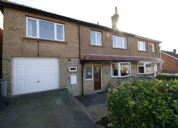 Thumbnail 4 bed semi-detached house for sale in The Avenue, Hipperholme, Halifax