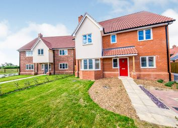 Thumbnail 4 bed detached house for sale in Church Road, Otley, Ipswich