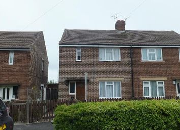 Thumbnail 2 bed semi-detached house to rent in Ken Churchill Drive, Horbury, Wakefield