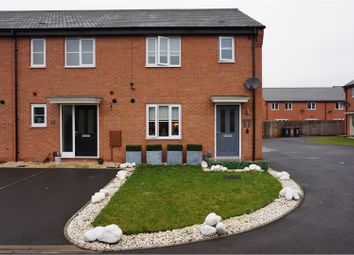 Thumbnail 3 bed end terrace house for sale in Levetts Close, Stenson Fields