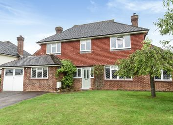 Thumbnail 4 bed detached house to rent in Summersbury Drive, Shalford, Guildford