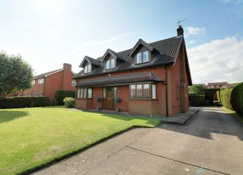 Thumbnail 4 bed detached house for sale in Wakerley Road, Scotter, Gainsborough