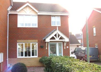 Thumbnail 3 bed semi-detached house for sale in Redwing Rise, Royston