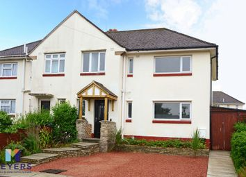 Thumbnail 4 bed semi-detached house for sale in Worbarrow Gardens, Poole