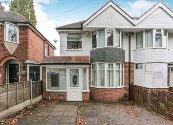Thumbnail 3 bed semi-detached house for sale in Elmay Road, Sheldon, Birmingham