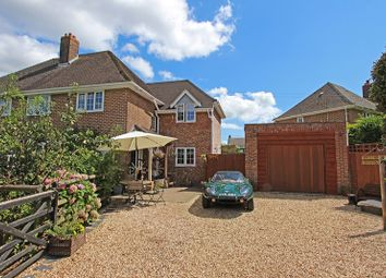 Thumbnail 4 bed semi-detached house for sale in Burnt House Lane, Pilley, Lymington
